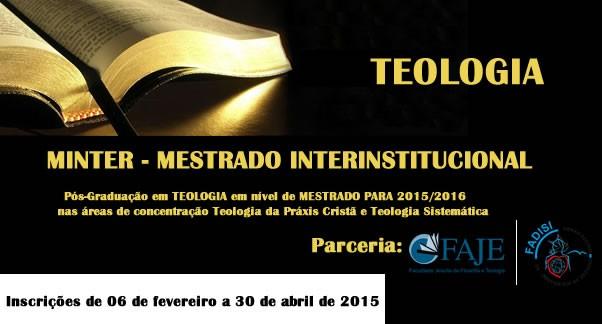Mestrado interinstitucional